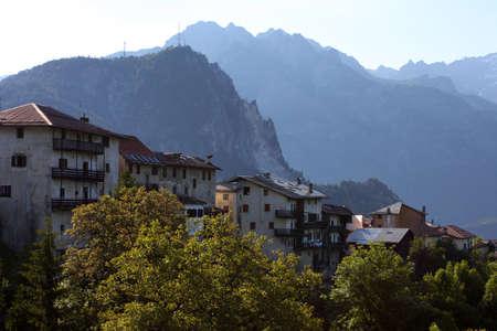 old italian village,  Alps Stock Photo - 14216803
