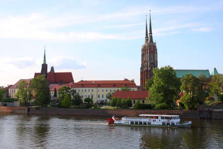 wroclaw - view on a  town