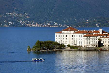vue sur le lac Majeur, en Italie Banque d'images