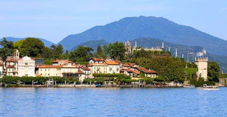 bella: view of Lago Maggiore, Italy  Stock Photo