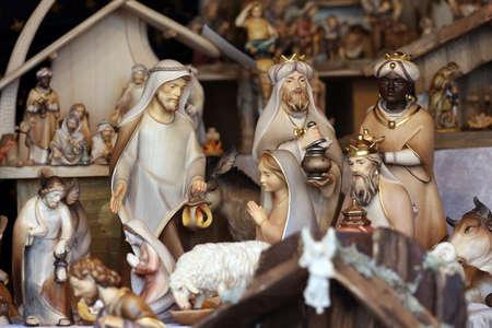beautiful jesus: showcase Christmas Decor, Vienna, Austria