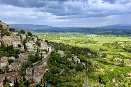 gordes: worldwide famous french provencale commune Gordes
