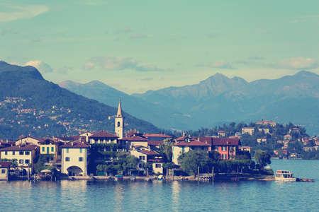 lago: view of Lago Maggiore,  Italy
