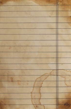 lined paper: close up of grunge lined paper background