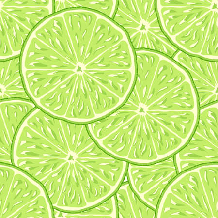 lime: lime slice seamless vector background