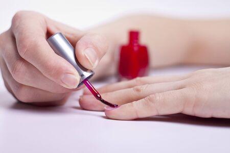 Manicure process Stock Photo - 12932333
