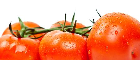 cantle: tomato closeup