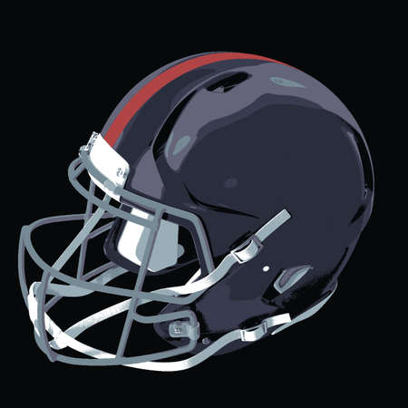 football helmet : This is a design that depicts about football helmet, have a sports theme, the protection and the team.