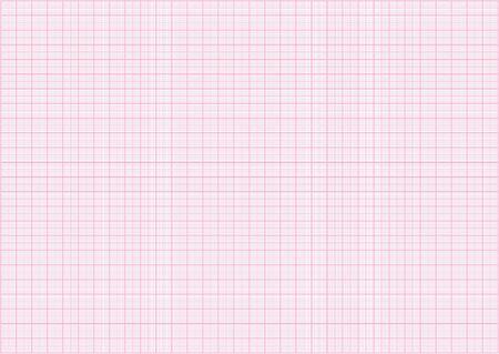 pink millimeter grid Illustration