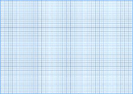 blue millimeter gride