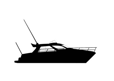 ship silhouette Illustration