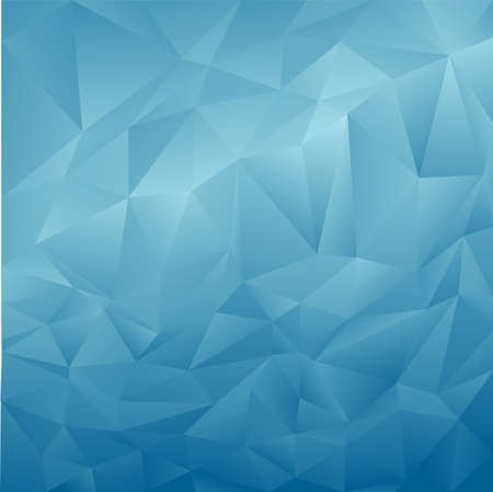 polygonal: Blue abstract polygonal background