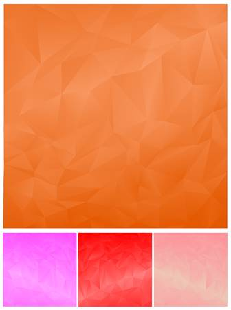 polygonal: abstract polygonal background set