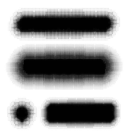 dots pattern background elements set for design Vector