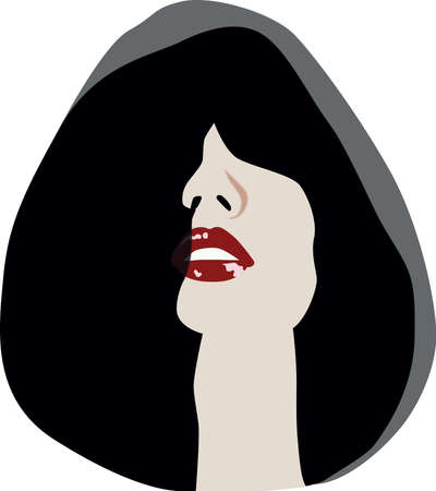 mystery woman: mystery woman with hood