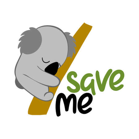Save Me Fleeing Koala - Support wildlife and people in their hard time. Record-breaking temperatures and months of severe drought have fuelled a series of massive bushfires across Australia
