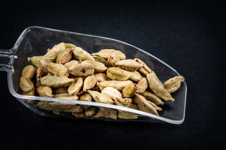 cardamom nut Stock Photo