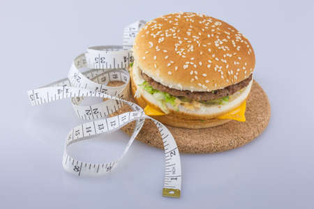 Disrupting the diet concept Stock Photo