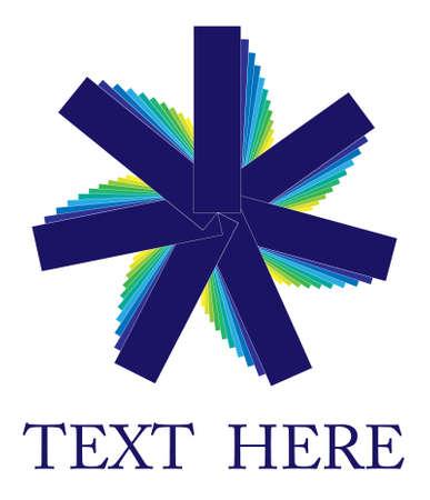 revolving: Bluish logo