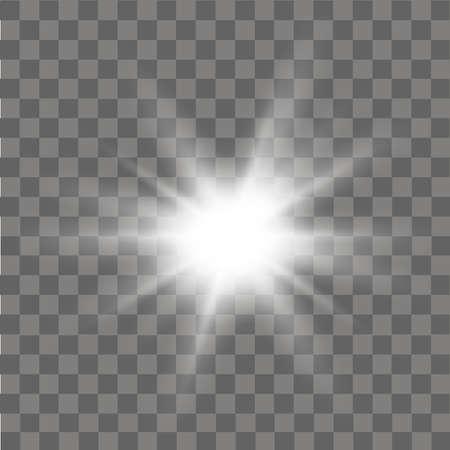 Gloed licht effect abstract effect van verlichting flare vector. Stockfoto - 88968500