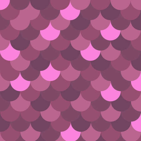 roof shingles: Seamless pattern with purple slate. Vector background