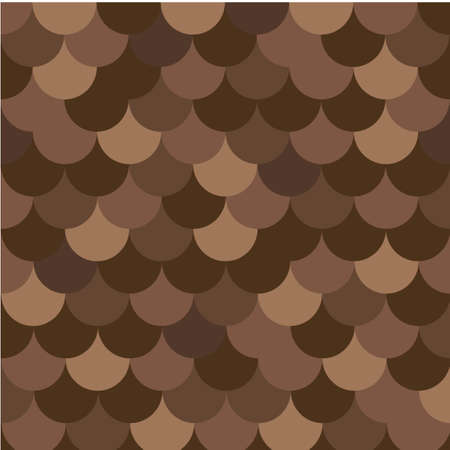 Seamless pattern with brown slate. Vector background