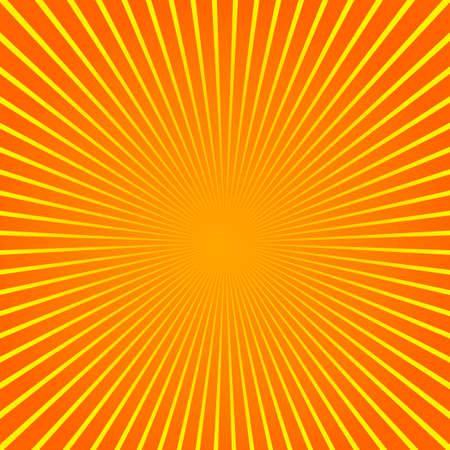 Sun beam ray sunburst pattern background summer. Shine Summer pattern. Vector.