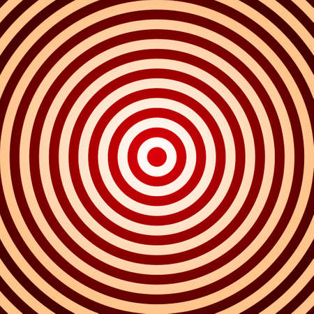 Concentric abstract circle pattern.   Vector