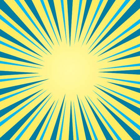 Abstract light sun rays background. Vector illustration.