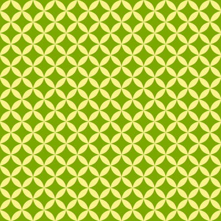 Abstract green Geometric seamless pattern for scatter. Vector.