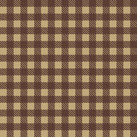 Brown patterns tablecloths stylish a illustration design. Geometrical traditional ornament for fashion textile, cloth, backgrounds. Vector illustration
