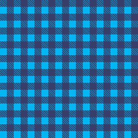 Blue tablecloth design pattern.
