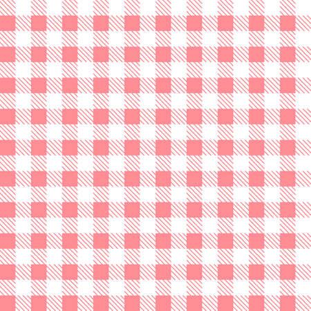 Pink patterns tablecloths stylish a illustration design.