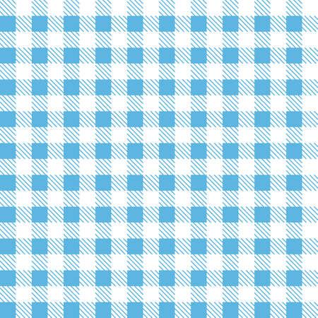 Blue patterns tablecloths stylish a illustration design.