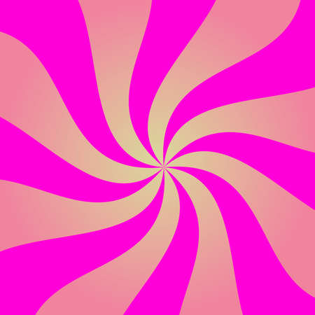 Abstract pink spiral illustration. Çizim
