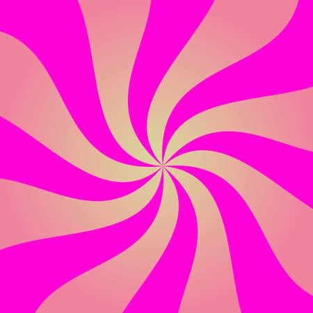 Abstract pink spiral illustration. Illustration