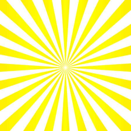 Abstract light yellow sun rays background.