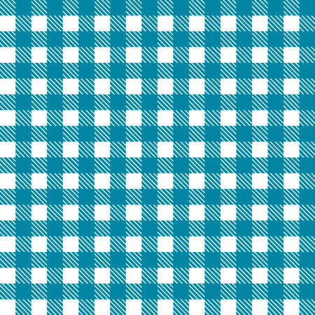 Blue patterns tablecloths stylish a illustration design. Geometrical traditional ornament for fashion textile, cloth, backgrounds. Vector illustration. Illustration