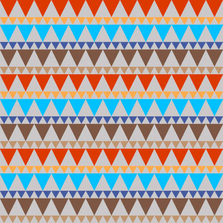 Geometrical traditional ornament for fashion textile, cloth, background vector illustration