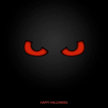 Happy Halloween mask background. Vector. 일러스트