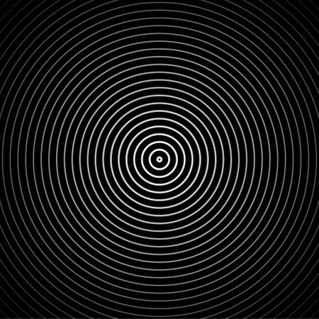 Hypnosis spiral background. Vector