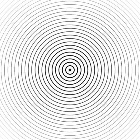 Hypnosis spiral background. Vector