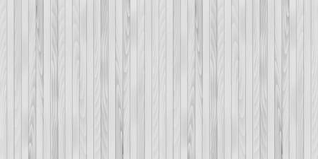 White wooden texture for your design. Vector Ilustracja