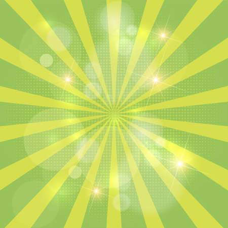 Abstract background with sun rays. Vector. Stockfoto - 149798986