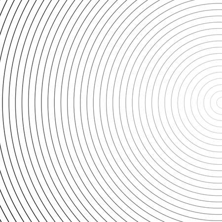 Radial texture, black and white. Vector background. Stockfoto - 149799414