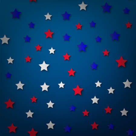 American Happy Independence Day background. Vector illustration Stockfoto - 149904676