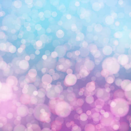 Abstract background with blurred colored lights. Vector. Ilustração