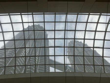 petronas: Petronas Twin Towers, KLCC, Kuala Lumpur, Malasia Foto de archivo