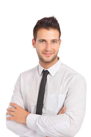 Handsome businessman Stock Photo - 10421685