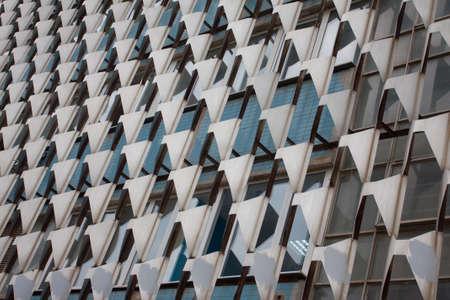 structural facade of the building Stok Fotoğraf